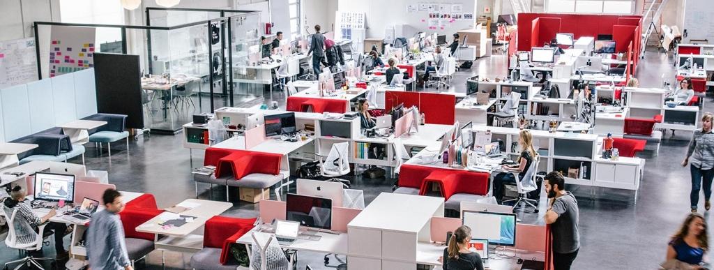 Photo Courtesy: FuseProject. Yves Behar designed new modular furniture for this programmable office concept for furniture maker, Herman Miller