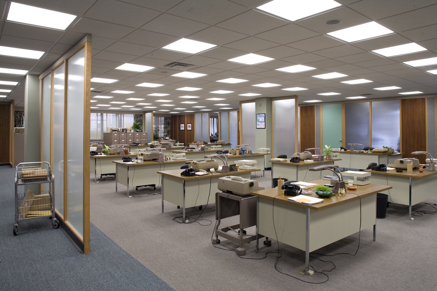 Mad Men Office, AMC Networks, Office Spaces in 1960s